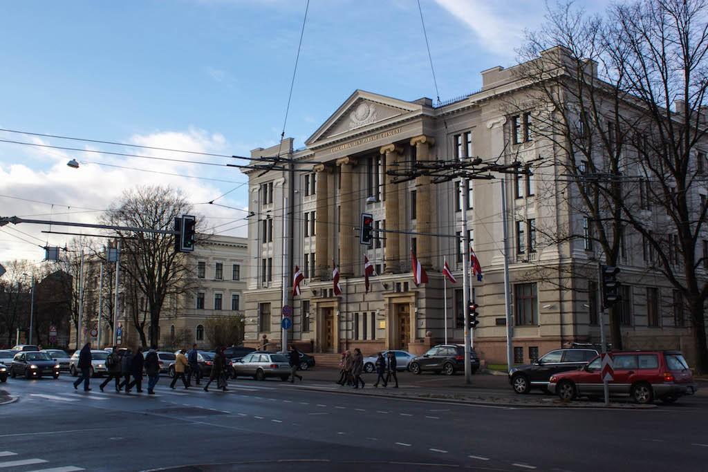 Riga Photos - Latvian Foreign Ministry Building