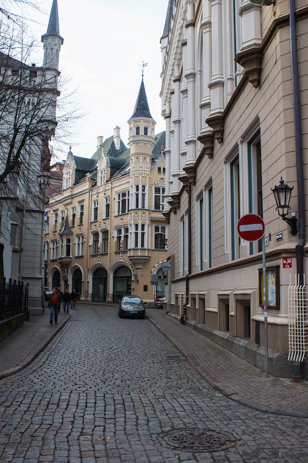 Riga Photos - Spires in Old Town