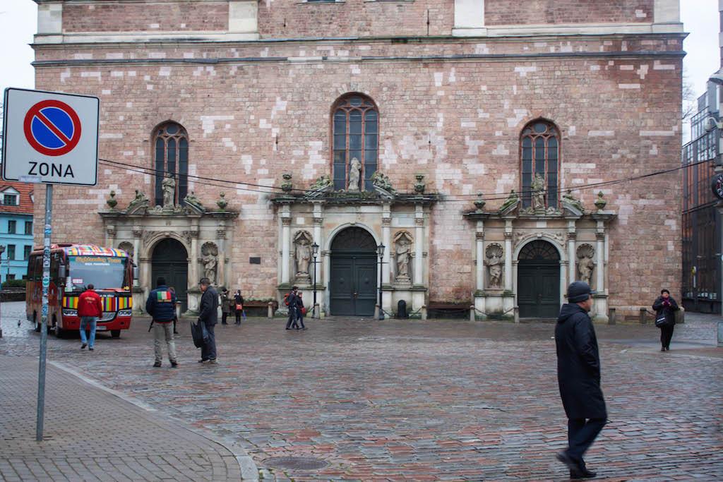 Riga Photos - St Peters Church Entrance