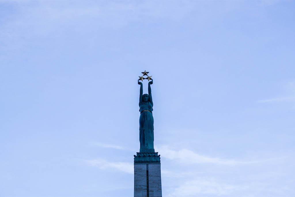 Riga Photos - Top of Freedom Monument