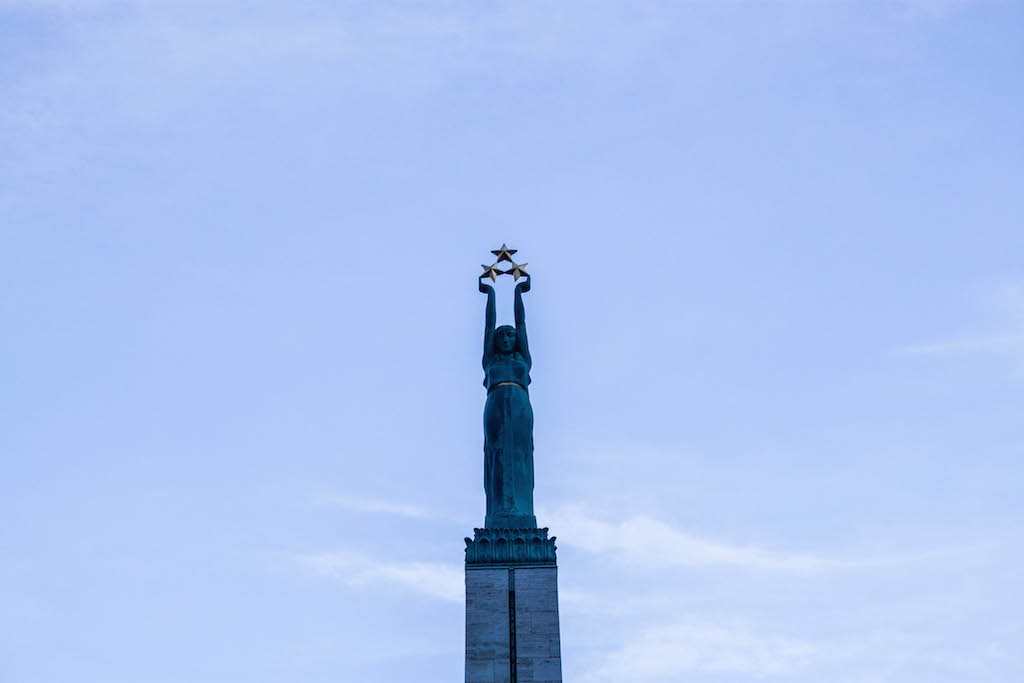 Riga Photos - Top of Freedom Monument