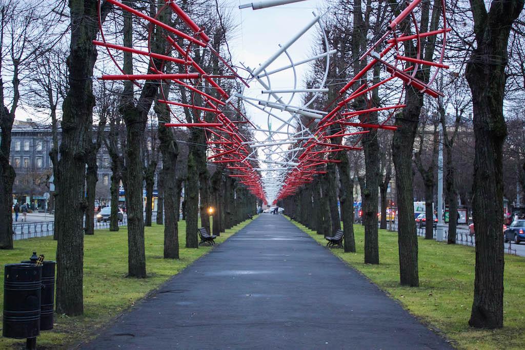 Riga Photos - Walking Towards Freedom Monument