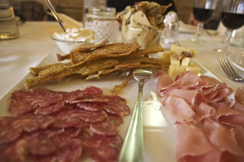 Visit Brescia - Antipasti at Osteria del Savio