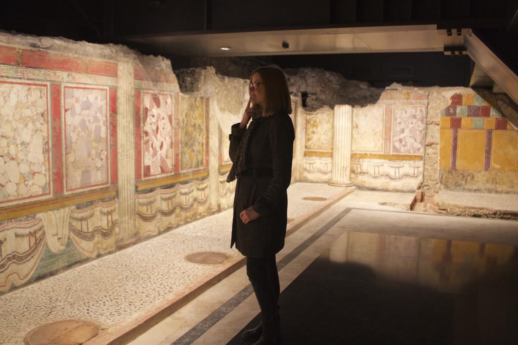 Visit Brescia - Capitolium Museum Roman Facades