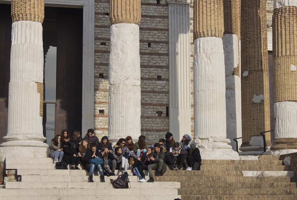 Visit Brescia - Capitolium School Trip Photo