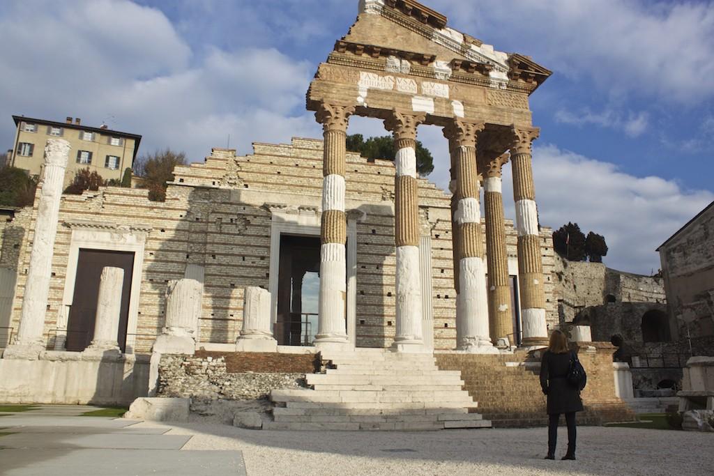 Visit Brescia - Cheryl Howard Travel Blogger Capitolium