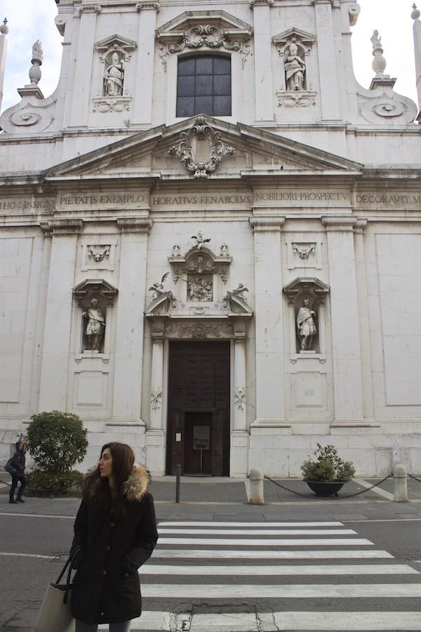Visit Brescia - Chiesa dei Santi Faustino e Giovita Entrance
