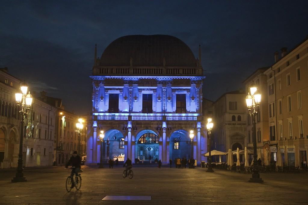 Visit Brescia - La Loggia at Night