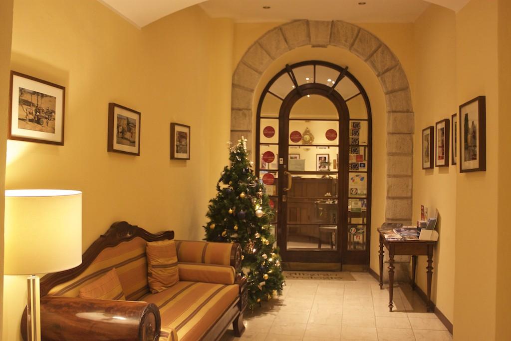 Visit Brescia - Lobby at Albergo Orologio Hotel