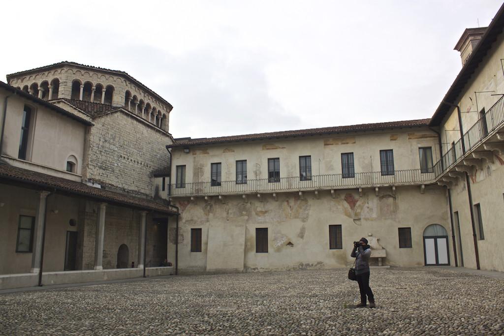 Visit Brescia - Museo di Santa Giulia Courtyard