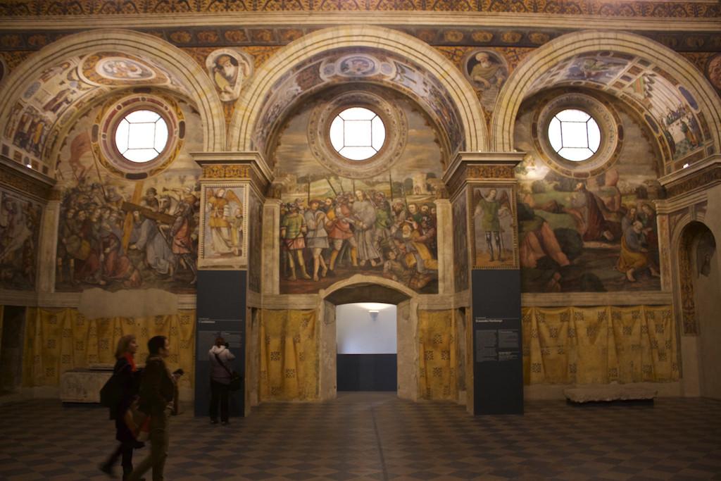 Visit Brescia - Museo di Santa Giulia Frescoes