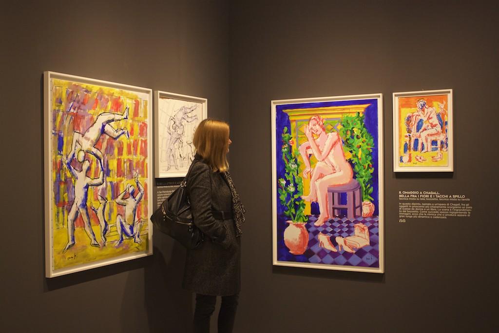 Visit Brescia - Museo di Santa Giulia Marc Chagall Dario Fo