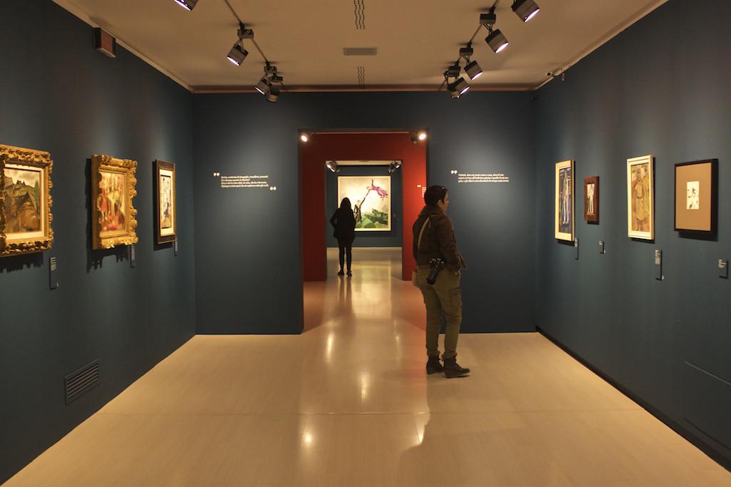 Visit Brescia - Museo di Santa Giulia Marc Chagall Exhibit