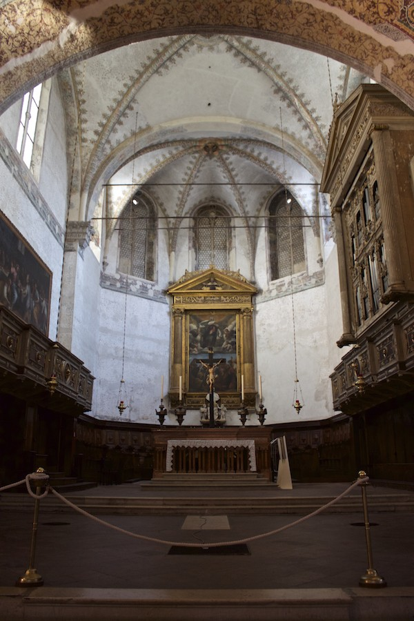 Visit Brescia - Old Cathedral Interior