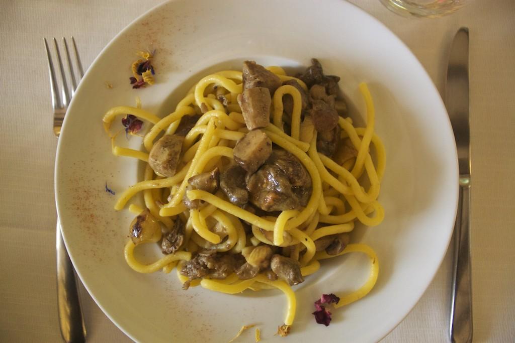 Visit Brescia - Pasta with Chestnuts and Mushrooms at Osteria del Savio