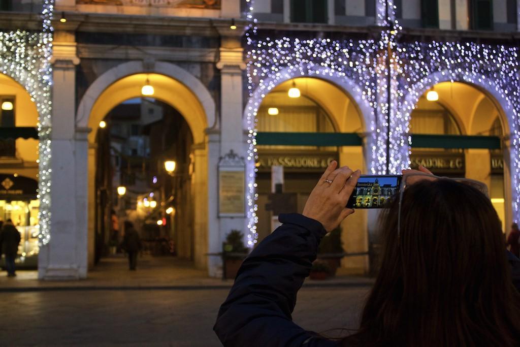 Visit Brescia - Piazza della Loggia at Night