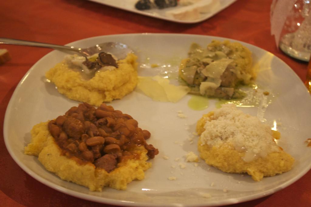 Visit Brescia - Trattoria Urbana Mangiafuoco Polenta Dishes