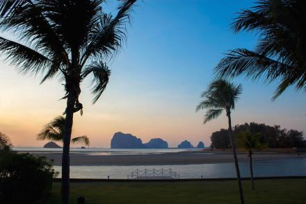 Trang Islands - Anantara Si Kao Resort & Spa Sunset from Room