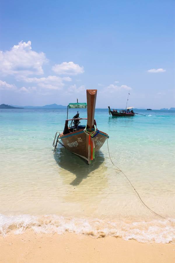 Trang Islands - Ko Kradan Classic Boat Scene