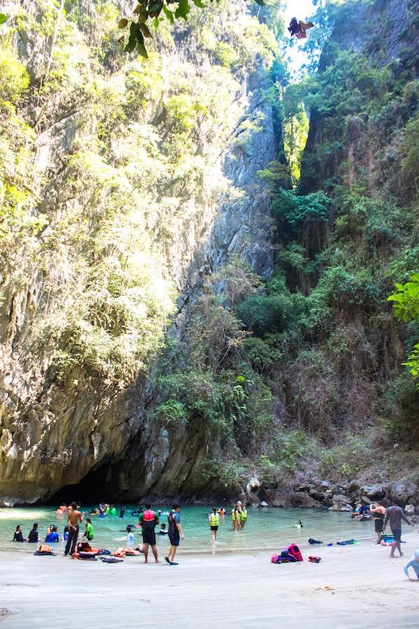 Trang Islands - Ko Muk Tham Morakot Emerald Cave Beach View