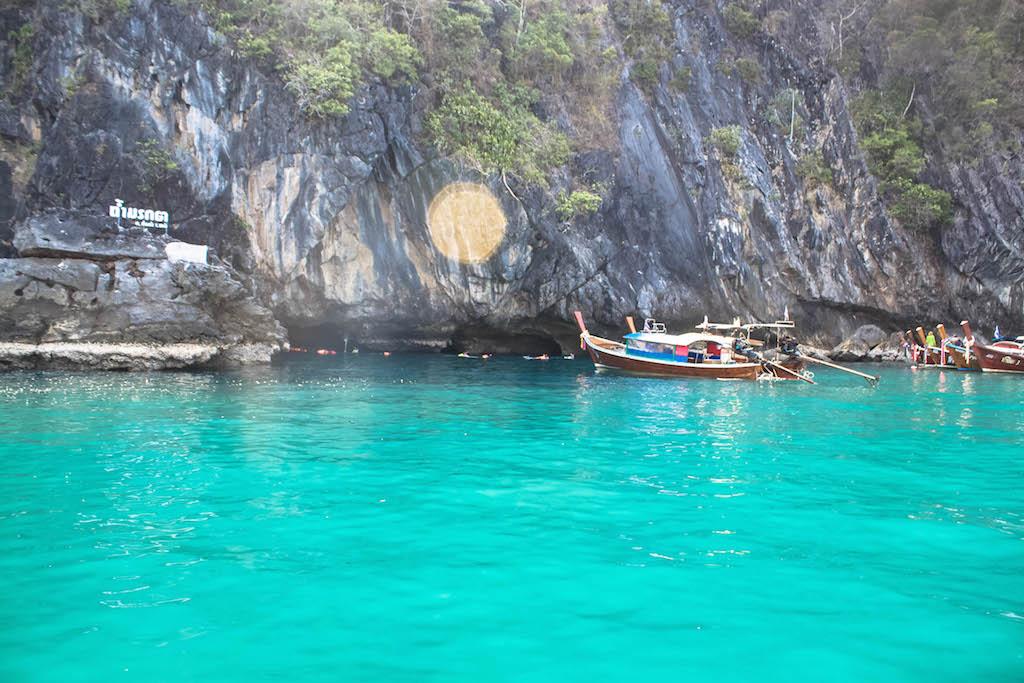 Trang Islands - Ko Muk Tham Morakot Emerald Cave Entrance