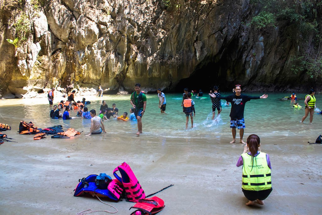 Trang Islands - Ko Muk Tham Morakot Emerald Cave Secret Beachjpg