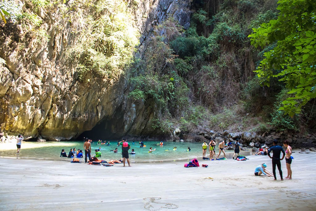 Trang Islands - Ko Muk Tham Morakot Emerald Cave Wide View