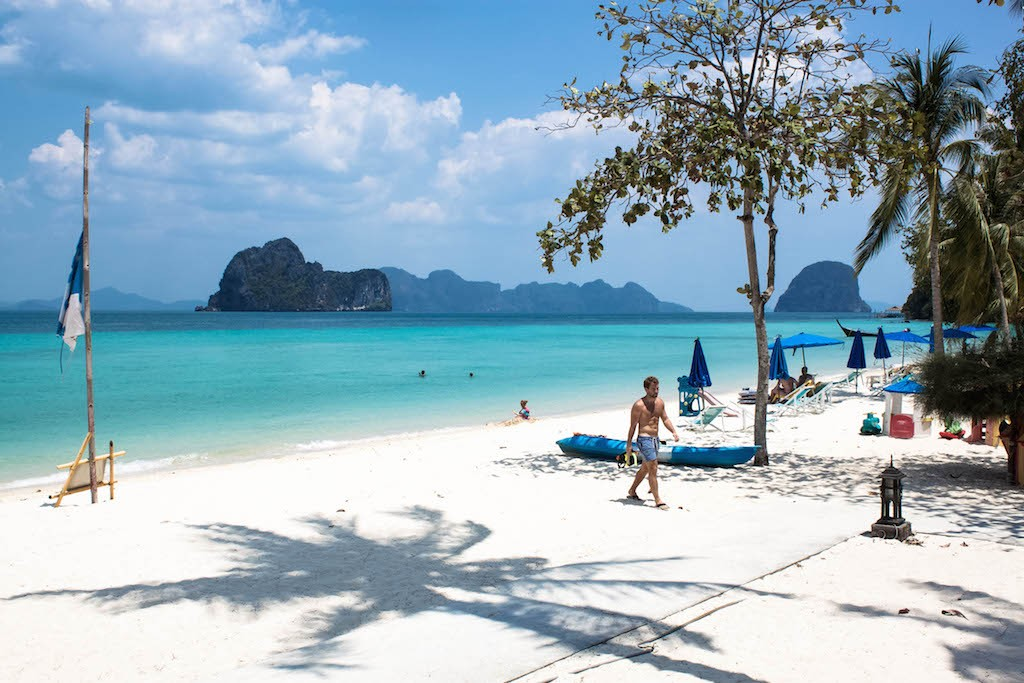 Trang Islands - Koh Hai Fantasy Resort Beach Scene