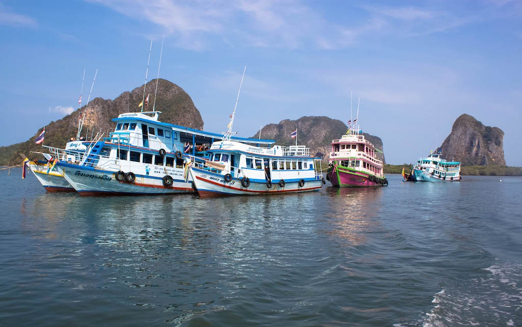 Trang Islands - Pak Meng Pier Boats