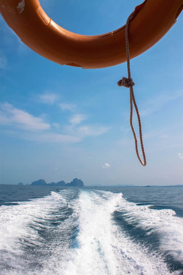 Trang Islands - Speed Boat View