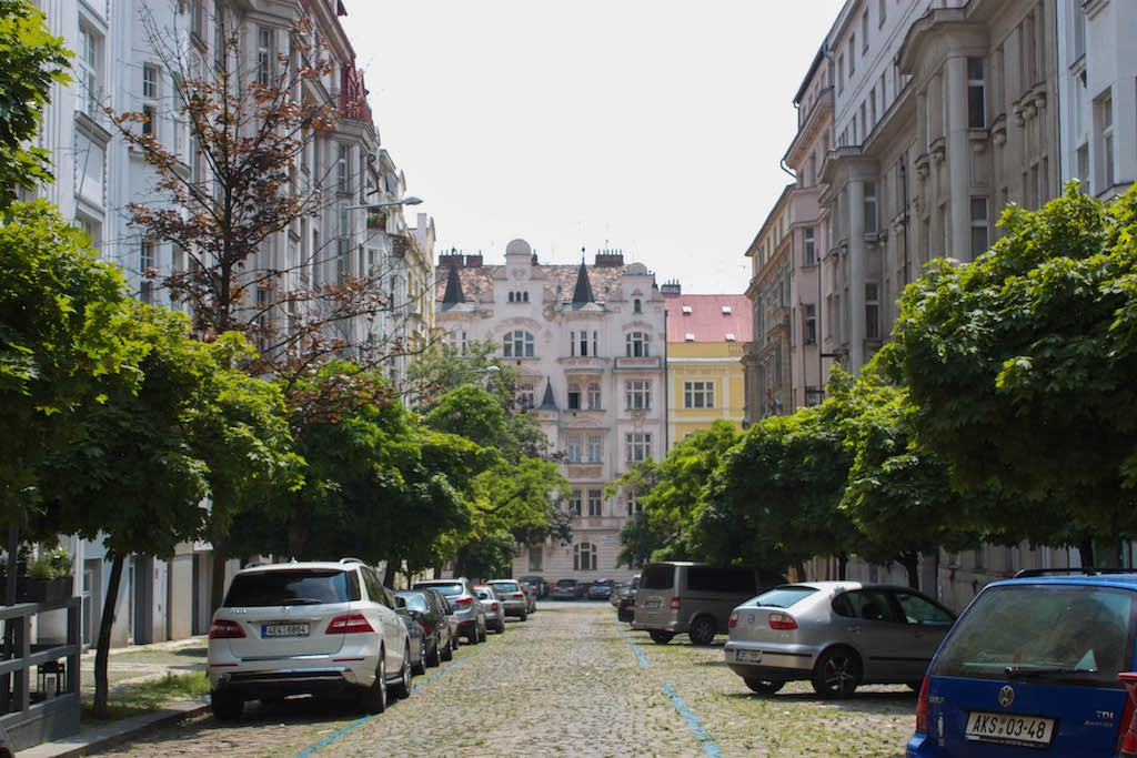 Prague Photo - Quiet Residential Street