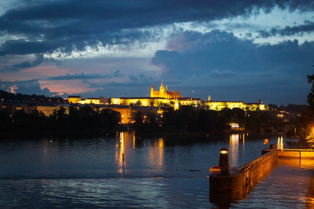 Prague Photos - Castle at Night