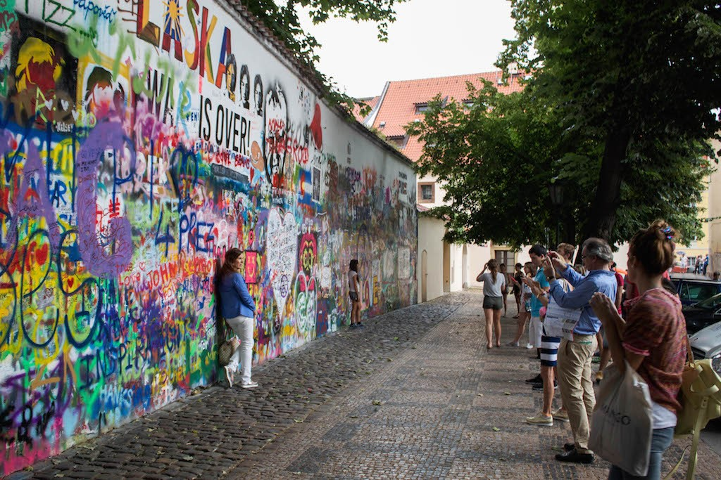 Prague Photos - John Lennon Wall
