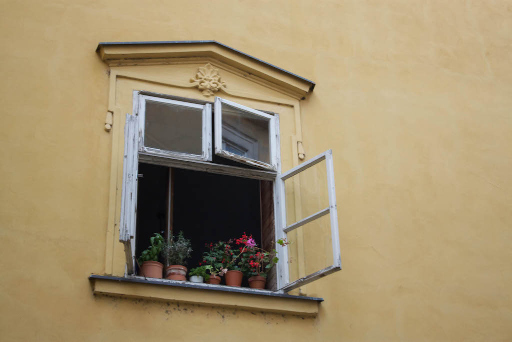 Prague Photos - Lone Window