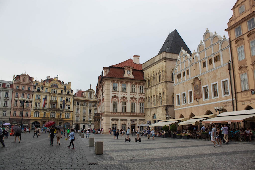 Prague Photos - Old Town Square Rainy Day
