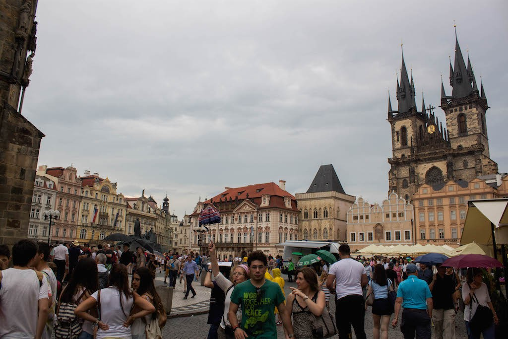 Prague Photos - Old Town Square Views