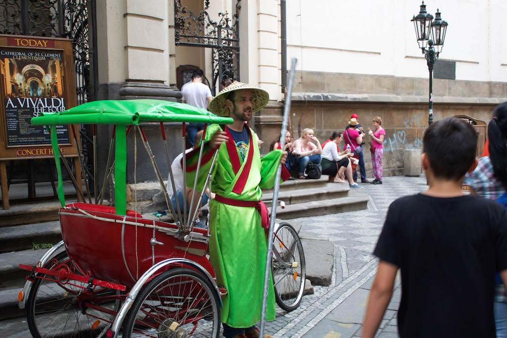 Prague Photos - Pretend Asian Guy