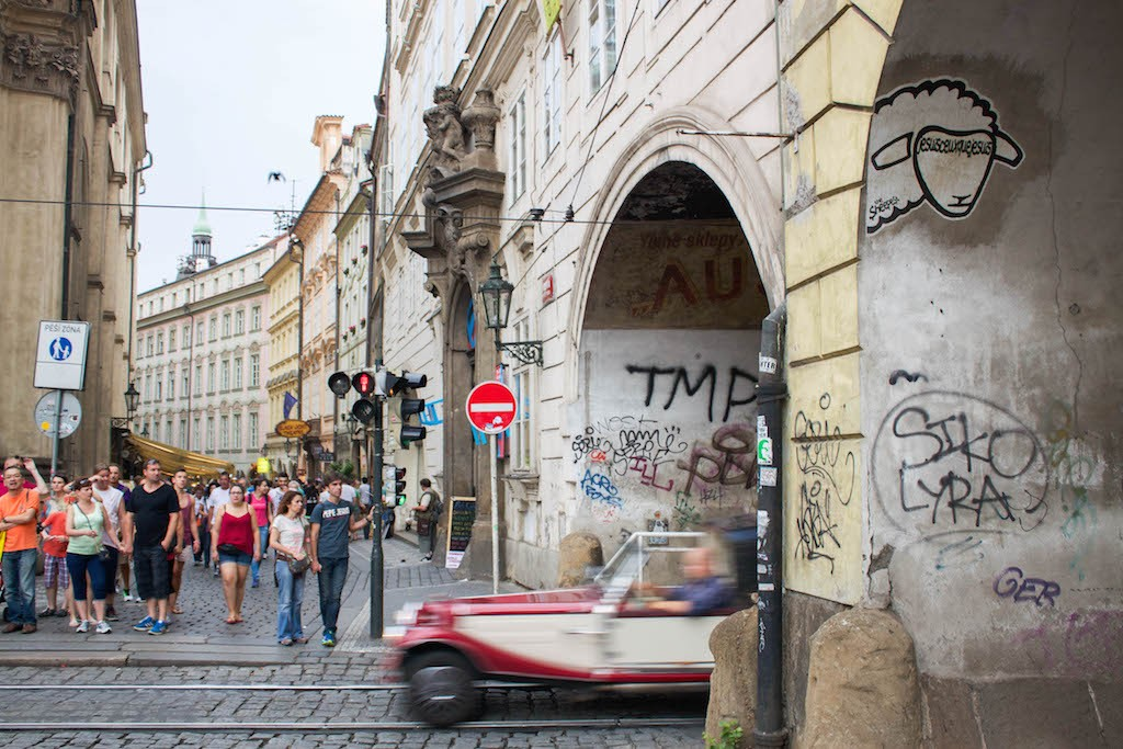 Prague Photos - The Sheepist Street Art