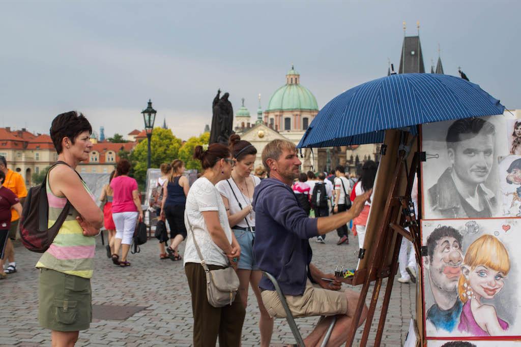 Prague Photos - Tourist Trap Charles Bridge