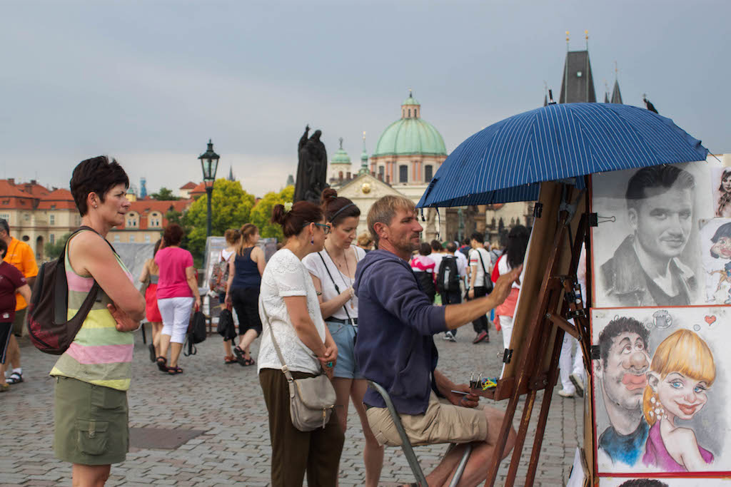 Prague Photos - Tourist Trap Charles Bridge