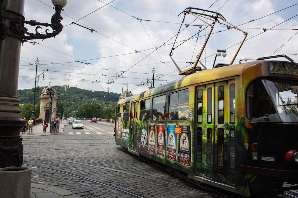 Prague Photos - Tram Views