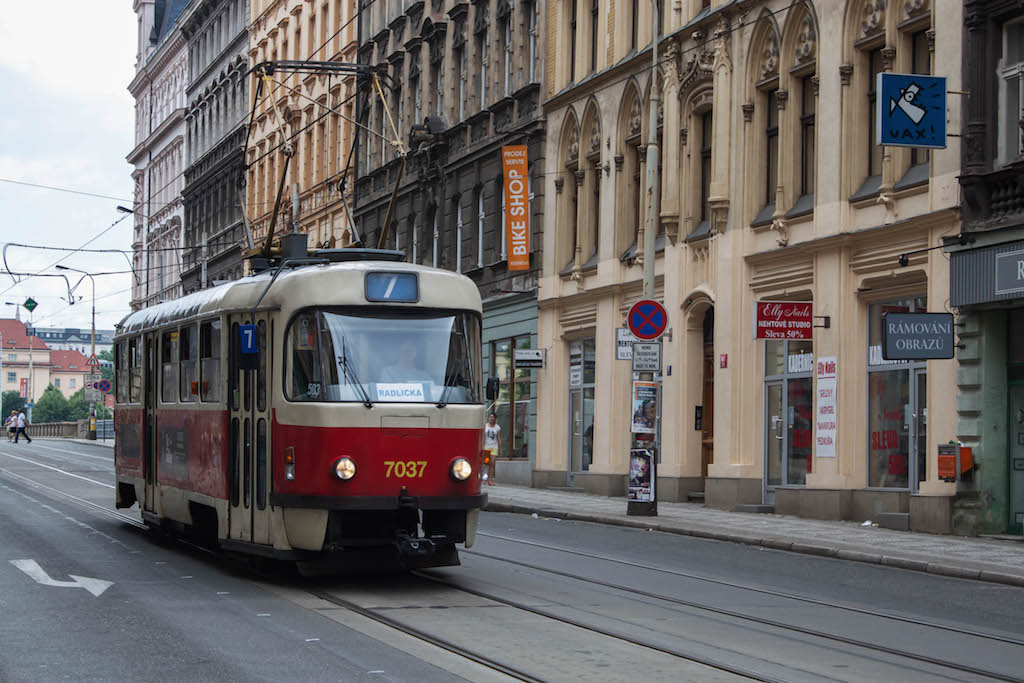 Prague Photos - Tram