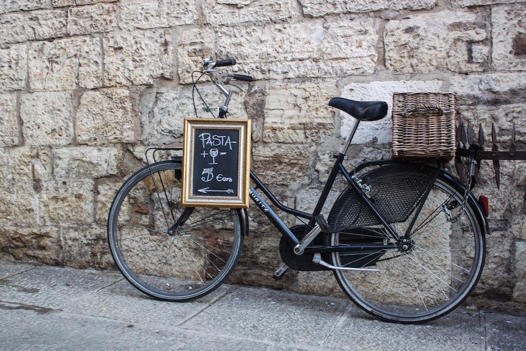 Streets of Brescia - Bike and Pasta