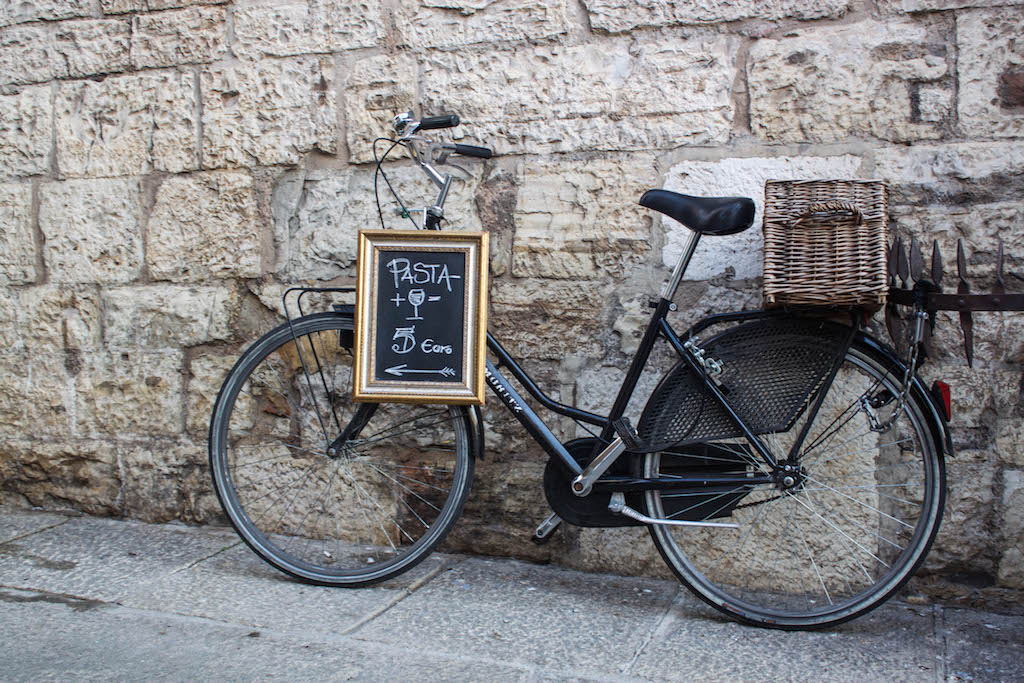 Streets of Brescia - Bike and Pasta