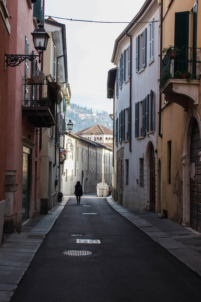 Streets of Brescia - Lone Girl