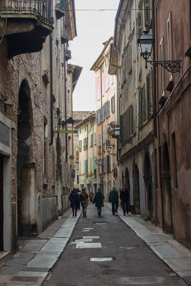 Streets of Brescia - People Wandering