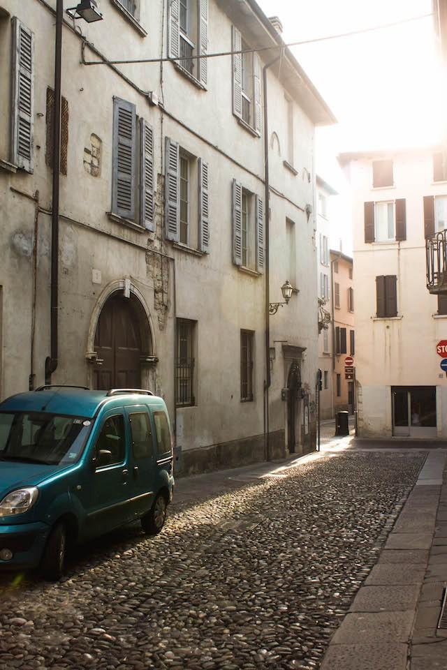Streets of Brescia - Splash of Light