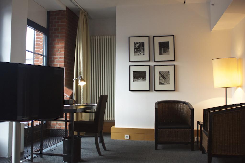 Gastwerk Hotel Hamburg - Business Loft Desk Area