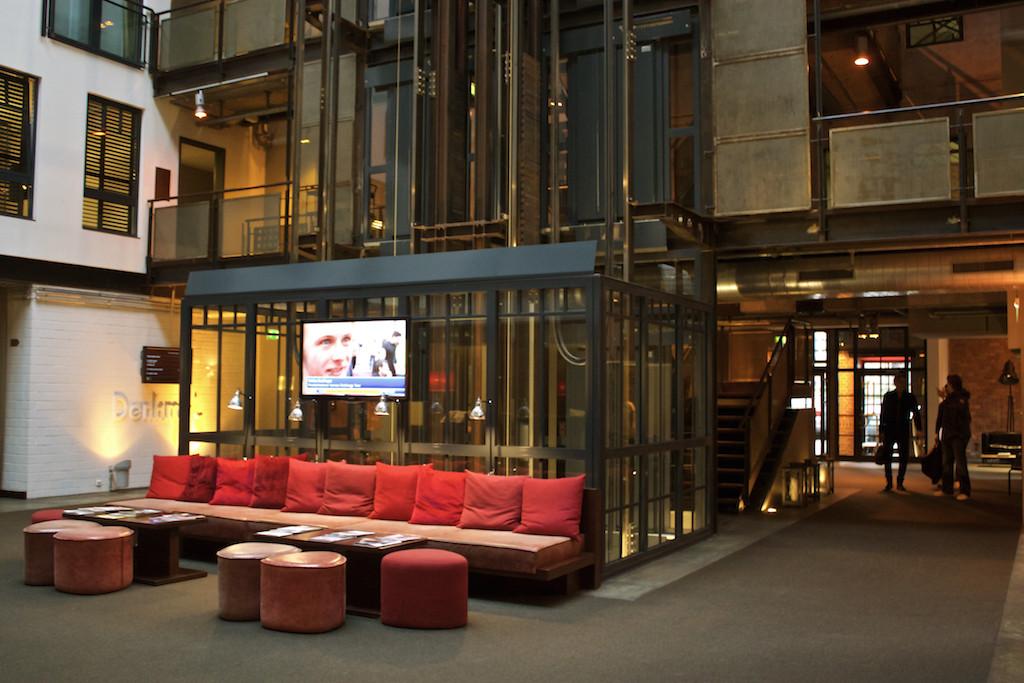 Gastwerk Hotel Hamburg - Lobby Elevator