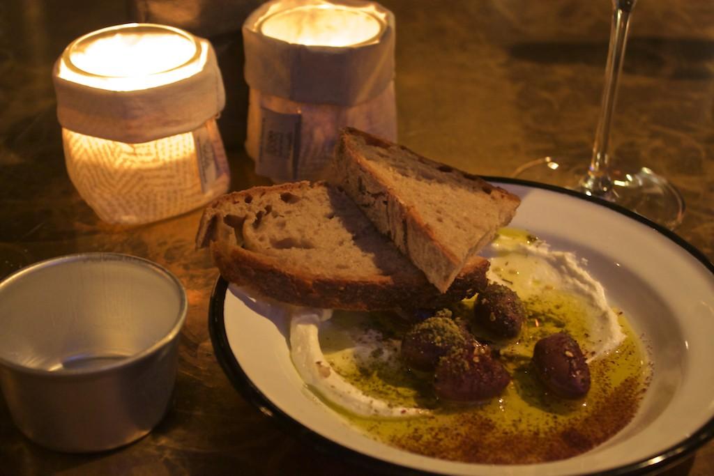 25 Hours Hotel Hamburg Neni Bread and Olives